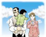 cloud clouds family food fullmetal_alchemist ice_cream king_bradley mrs._bradley selim_bradley yuusura