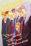 6+boys blonde_hair blue_eyes brown_hair butz_klauser cecil_harvey character_name cloud_strife dissidia_final_fantasy everyone final_fantasy final_fantasy_i final_fantasy_ii final_fantasy_iii final_fantasy_iv final_fantasy_ix final_fantasy_v final_fantasy_vi final_fantasy_vii final_fantasy_viii final_fantasy_x formal frioniel green_eyes grey_hair group_profile height_difference lineup lipstick long_hair magatsumagic makeup multiple_boys necktie onion_knight opposing_sides profile short_hair silver_hair spiked_hair spiky_hair squall_leonhart suit tidus tina_branford warrior_of_light zidane_tribal