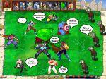 capcom captain_america chun-li english gambit hulk marvel marvel_vs_capcom morrigan_aensland parody plants_vs_zombies ryu_(street_fighter) strider_hiryu war_machine wolverine zombie