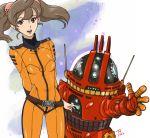 analyzer bodysuit highres kujira_gunsou misaki_yuria robot twintails uchuu_senkan_yamato uchuu_senkan_yamato_2199