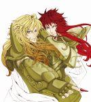 alternate_hairstyle aquarius_camus armor full_armor male multiple_boys saint_seiya scorpio_milo