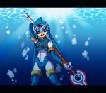 blue blue_eyes capcom fairy_leviathan female girl guardian_of_the_sea guardians_of_master_x guardians_of_neo_arcadia gynoid helmet javalin leviathan leviathan_(megaman) leviathan_(rockman) megaman_zero mmz neo_arcadia oekaki reploid rmz robot rockman rockman_zero sitting spear thigh-highs woman