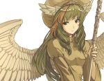 elona goddess hat jure_of_healing rueken staff wings yellow
