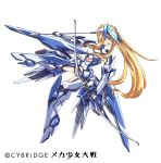 1girl blonde_hair blue_eyes kaoru348 long_hair mecha_musume solo