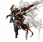 alternate_form bad_id extra_arms final_fantasy final_fantasy_v from_behind gilgamesh_(final_fantasy) male multiple_arms nil solo sword weapon zoom_layer