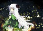 1girl houkiri_nemu kajiri_kamui_kagura solo tenma_tokoyo white_hair