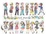 6+girls blue_(pokemon) blue_(pokemon)_(classic) blue_(pokemon)_(cosplay) bulbasaur charmander chikorita chimchar cosplay crystal_(pokemon) crystal_(pokemon)_(cosplay) cyndaquil dual_persona gold_(pokemon) gold_(pokemon)_(cosplay) haruka_(pokemon) haruka_(pokemon)_(cosplay) hasumiya hikari_(pokemon) hikari_(pokemon)_(cosplay) kotone_(pokemon) kotone_(pokemon)_(cosplay) kouki_(pokemon) kouki_(pokemon)_(cosplay) kyouhei_(pokemon) kyouhei_(pokemon)_(cosplay) leggings mei_(pokemon) mei_(pokemon)_(cosplay) mudkip multiple_boys multiple_girls nintendo oshawott pantyhose piplup pokemon pokemon_(game) pokemon_bw pokemon_bw2 pokemon_dppt pokemon_frlg pokemon_gsc pokemon_hgss pokemon_rgby pokemon_rse red_(pokemon) red_(pokemon)_(classic) red_(pokemon)_(cosplay) red_(pokemon)_(remake) snivy squirtle tepig thighhighs torchic totodile touko_(pokemon) touya_(pokemon) touya_(pokemon)_(cosplay) treecko turtwig yuuki_(pokemon) yuuki_(pokemon)_(cosplay)