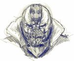 bane batman_(series) coat dc_comics mask monochrome phuphu serious sketch the_dark_knight_rises