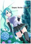 hatsune_miku kiriya_haruhito skirt thigh-highs thighhighs twintails umbrella vocaloid zettai_ryouiki