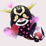 charlotte_(madoka_magica) cream_(stand) fusion heart jojo_no_kimyou_na_bouken mahou_shoujo_madoka_magica mamegohan parody pink_eyes pink_hair stand_(jojo) vanilla_ice