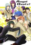 6+boys angel_beats! highres hinata_(angel_beats!) hug matsushita multiple_boys multiple_girls naoi_ayato noda_(angel_beats!) ooyama_(angel_beats!) otonashi_(angel_beats!) rin_(chouchou) school_uniform serafuku tachibana_kanade tenshi_(angel_beats!) yuri_(angel_beats!)
