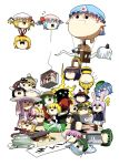 :3 alice_margatroid animal_ears antennae barrel bat_wings black_hair blonde_hair blue_hair bow braid bunny_ears cage cart chen crying doujinshi drinking entangled everyone farmer flandre_scarlet floating flower flying fox_ears fox_tail gap ghost green_hair hair_bow hair_ornament hakurei_reimu hat headband hieda_no_akyuu hime_cut hinanawi_tenshi horn hoshiguma_yuugi hot_air_balloon inaba_tewi insect jealous kagiyama_hina kawashiro_nitori kazami_yuuka kimeemaru kirby kirby_(series) kirisame_marisa kisume konpaku_youmu konpaku_youmu_(ghost) kurodani_yamame letty_whiterock licking lifting lightning manhole medicine_melancholy mizuhashi_parsee moriya_suwako multiple_girls mystia_lorelei nagae_iku nichori open_mouth outstretched_arms pageratta pale_skin patchouli_knowledge plate purple_hair pushing pyonta rabbit_ears red_hair redhead remilia_scarlet ribbon rumia saigyouji_yuyuko sake saturday_night_fever scared shaded_face shameimaru_aya sharp_teeth shimenawa spider spinning spread_arms surprised tail teruyof tongue touhou triangular_headpiece twin_braids twintails upside-down water_hose wheelbarrow wings witch_hat wriggle_nightbug writing yakumo_ran yakumo_yukari yasaka_kanako yukkuri_shiteitte_ne