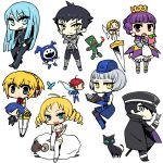 6+girls :d :o aegis arisato_minato arlia armor atlus blonde_hair blue_eyes blue_hair book boomerang butterfly cat catherine catherine_(game) chan_co character_doll chibi company_connection crossover crown devil_summoner drill_hair eating elizabeth_(persona) food fruit gouto gradriel grey_hair hat hitoshura jack_frost kuzunoha_raidou long_hair mokoi multiple_boys multiple_girls nemissa open_mouth pantyhose peach persona persona_3 pixie_(megami_tensei) princess_crown purple_eyes purple_hair sheep shin_megami_tensei shin_megami_tensei_iii:_nocturne short_hair sitting smile soul_hackers standing sword tattoo thighhighs twin_drills violet_eyes weapon yellow_eyes |_|