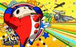bear kintoki-douji kuma_(persona_4) persona persona_4 soejima_shigenori watermark