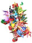 christmas christmas_tree clothed_pokemon eevee espeon everyone flareon glaceon highres jolteon kuo leafeon pokemon pokemon_(creature) umbreon vaporeon