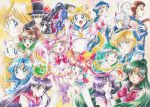 6+girls aino_minako artemis_(sailor_moon) bishoujo_senshi_sailor_moon cat chiba_mamoru chibi_chibi chibi_usa child diana_(sailor_moon) eternal_sailor_moon everyone half_updo hino_rei kaiou_michiru kino_makoto luna_(sailor_moon) magical_girl meiou_setsuna mizuno_ami multiple_girls sailor_chibi_chibi sailor_chibi_moon sailor_jupiter sailor_mars sailor_mercury sailor_moon sailor_neptune sailor_pluto sailor_saturn sailor_star_fighter sailor_star_healer sailor_star_maker sailor_uranus sailor_venus seiya_kou super_sailor_chibi_moon taiki_kou ten'ou_haruka ten'ou_haruka tomo_(rocket_start!) tomoe_hotaru tsukino_usagi tuxedo_kamen upside-down yaten_kou