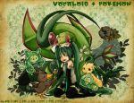 crossover flygon hatsune_miku leek pokemon vocaloid
