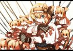 alice_margatroid blonde_hair gloves hellsing parody shanghai shanghai_doll short_hair touhou weapon