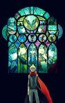 bunny ebipo(えびぽ) ebipo(???) ebipo(ã£âë†ã£ââ³ã£ââ½) ebipo(えびぽ) hanamura_yousuke highres izanagi izanagi_no_okami izanami kunai magatsu_izanagi narukami_yuu persona persona_4 rabbit scarf stained_glass sword the_fool_(tarot_card) the_judgement the_magician weapon