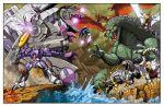 crossover cyclonus epic galvatron godzilla godzilla_(series) grimlock rodan scourge sludge slug snarl swoop transformers trypticon