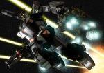 heavy_full_armor_gundam mecha no_humans robographer space star_(sky) weapon