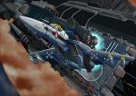 armd armor choujikuu_yousai_macross cockpit gunpod helmet i.t.o_daynamics i.t.o_dynamics ichijou_hikaru jupiter macross macross:_do_you_remember_love? mecha missile oldschool pilot_suit planet radiation_symbol realistic science_fiction sdf-1 skull_and_crossbones space space_craft spacesuit taking_off u.n._spacy vf-1 vf-1_super vf-1a