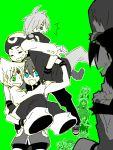 >_< 5girls 6+boys :d blue_(pokemon) blue_eyes carrying crystal_(pokemon) diamond_(pokemon) emerald_(pokemon) fangs gold_(pokemon) green_background green_eyes mitsuru_(pokemon) multiple_boys multiple_girls odamaki_sapphire ookido_green open_mouth pearl_(pokemon) platinum_berlitz pokemon pokemon_special red_(pokemon) ruby_(pokemon) silver_(pokemon) smile strong surprised sweatdrop tegaki udog xd yellow_(pokemon)