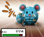 azurill electricity muscle nintendo no_humans pokemon realistic ujiga_waita