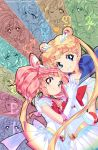 aino_minako bishoujo_senshi_sailor_moon blonde_hair blue_eyes chibi_usa choker double_bun earrings elbow_gloves gloves heart hino_rei holding_hands jewelry juby jupiter_symbol kaiou_michiru kino_makoto long_hair looking_at_viewer magical_girl mars_symbol meiou_setsuna mercury_symbol mizuno_ami multiple_girls neptune_symbol pink_hair pluto_symbol red_eyes sailor_chibi_moon sailor_jupiter sailor_mars sailor_mercury sailor_moon sailor_neptune sailor_pluto sailor_saturn sailor_senshi sailor_uranus sailor_venus saturn_symbol short_hair skirt smile super_sailor_chibi_moon super_sailor_moon ten'ou_haruka ten'ou_haruka tiara tomoe_hotaru tsukino_usagi twintails uranus_symbol venus_symbol