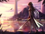 city landscape photoshop scenic siraha sword sword_art_online water weapon yuuki_asuna
