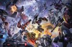 artist_request autobot battle blade brawl bumblebee cannon character_request condensation_trail cybertron decepticon epic explosion flying frenzy glasses goggles gun helmet highres ironhide jazz_(transformers) jetfire laserbeak lifting lips logo mace mecha megatron name_characters official_art omega_supreme optimus_prime planet promotional_art ratchet realistic rifle robot rumble science_fiction sentinel_prime shockwave shockwave_(transformers) slipstream sniper_rifle soundwave space space_craft starscream sword throwing transformers trypticon video_game war_for_cybertron weapon