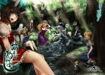 :d ;d alice_margatroid animal_ears arm_up bare_legs barefoot belt blonde_hair blue_dress blue_eyes blue_hair blush bow bow_(instrument) breasts brown_eyes brown_hair cat_ears cat_tail chen corset dress earrings elbow_gloves feet_in_water fishing fishing_rod flat_gaze forest fox_ears fox_tail frown ghost girl_on_top gloves hair_bow hair_ribbon hairband happy hat hat_ribbon hourai_doll in_tree instrument jewelry konpaku_youmu konpaku_youmu_(ghost) large_breasts letty_whiterock long_hair looking_at_viewer lunasa_prismriver lyrica_prismriver merlin_prismriver midriff multiple_girls multiple_tails nature nose_blush nose_bubble open_mouth outdoors perfect_cherry_blossom pink_eyes pink_hair playing purple_dress purple_eyes red_dress red_eyes ribbon river saigyouji_yuyuko sash seiza selfcest shanghai_doll shirt short_hair siblings silver_hair single_earring sisters sitting sitting_in_tree skirt skirt_set sleeping smile soaking_feet staring tabard tail touhou tree trumpet veil violet_eyes violin water wavy_mouth white_dress white_gloves wink yakumo_ran yakumo_yukari yana_(nekoarashi) yellow_eyes yuri