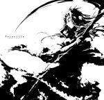 dark_souls monochrome priscilla_the_crossbreed scythe taamo_yu