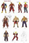 abs absurdres alternate_costume ankle_wraps aura barefoot belt blonde_hair bodysuit boots capcom chaps concept_art cowboy_boots cowboy_hat dark_skin dougi facial_hair fingerless_gloves flame_print formal gloves gold_chain hat highres jacket jeans jewelry ken_masters mask mixed_martial_arts muscle neckerchief necklace official_art rough scar shirtless shoes short_hair shorts sneakers solo street_fighter street_fighter_iv stubble suit superhero tan translation_request vest