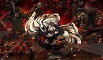 g_yuusuke game_cg kajiri_kamui_kagura kyougetsu_keishirou samurai weapon