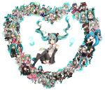 ai_kotoba_(vocaloid) alice_in_musicland_(vocaloid) annotation_request boots cat_food_(vocaloid) clock_lock_works_(vocaloid) detached_sleeves floating_hair hachune_miku hatsune_miku hatsune_miku_(append) hatsune_miku_no_shoushitsu_(vocaloid) hello_planet_(vocaloid) highres himitsu_keisatsu_(vocaloid) ievan_polkka_(vocaloid) kochira_koufuku_anshin_iinkai_desu_(vocaloid) koi_wa_sensou_(vocaloid) koiiro_byoutou_(vocaloid) koisuru_mutant_(vocaloid) kurikaeshi_hitotsubu_(vocaloid) kusare_gedou_to_chokorewito_(vocaloid) long_hair lots_of_laugh_(vocaloid) melt_(vocaloid) multiple_persona musunde_hiraite_rasetsu_to_mukuro_(vocaloid) necktie neko_ni_cider_(vocaloid) nisoku_hokou_(vocaloid) open_mouth rolling_girl_(vocaloid) romeo_to_cinderella_(vocaloid) rotten_girl_grotesque_romance_(vocaloid) saihate_(vocaloid) sakura_no_ame_(vocaloid) senbon-zakura_(vocaloid) shinkai_shoujo_(vocaloid) shinkai_summit_(vocaloid) shiteyan'yo shuudou_shoujo_to_guuzou_shoujo_(vocaloid) skirt songover spica_(vocaloid) sweet_devil_(vocaloid) tanumabuttsu thigh-highs thigh_boots thighhighs top_secret_(vocaloid) tsumi_to_batsu_(vocaloid) twintails very_long_hair vocaloid vocaloid_append world_is_mine_(vocaloid) yubikiri_(vocaloid)