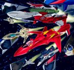 90s airplane canards cannon character_request epic fire_bomber fire_valkyrie fleet flying glasses gunpod helmet ichijou_hikaru isamu_dyson jet kanzaki_hibiki kudou_shin macross macross_2 macross_7 macross_frontier macross_zero mecha missile name_characters negimura_kisara nekki_basara oldschool pilot_suit radiation_symbol s.m.s. saotome_alto science_fiction space spacesuit star_(sky) sunglasses u.n._spacy vf-0 vf-1 vf-19 vf-1_strike vf-1s yf-19 yf-29