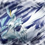 claws dragon giren horn kyurem monster no_humans pokemon pokemon_(creature) pokemon_(game) pokemon_bw2 sharp_teeth solo spikes tail yellow_eyes yellow_sclera