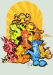 animal_ears barefoot breasts crossed_legs edtropolis feet furry hat meowth miles_prower nintendo nude pawpads paws pikachu pokemon raichu sally_acorn shoes smile soles sonic_team sonic_the_hedgehog spiked_bracelet spread_legs sunglasses tail toe_spread toes yoshi