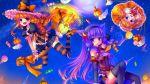 alice_margatroid animal cat catgirl dress halloween kirisame_marisa patchouli_knowledge skirt touhou witch
