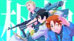 axis axis_powers_hetalia germany_(hetalia) gun hetalia italy_(hetalia) japan_(hetalia) sword weapon