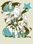 fuuro_(pokemon) holding holding_poke_ball j6u6li looking_at_viewer poke_ball pokemon pokemon_(game) pokemon_bw swanna swoobat unfezant wink