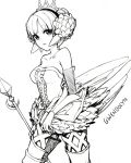 francisco_valle gwendolyn monochrome odin_sphere polearm spear vl weapon