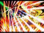 bow fujiwara_no_mokou hair_bow izayoi_sakuya long_hair red_eyes silver_hair suspenders touhou very_long_hair