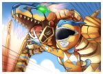 animal ashmish dinozord dragon mecha megazord monster_hunter power_rangers robot tigrex wyvern