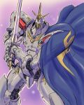 mecha no_humans purple_background s.shimizu scherazade sword tenkuu_no_escaflowne weapon
