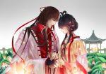 flower genderswap hair_rings light long_hair lotus luo_tianyi vocaloid yi_dianxia yuezheng_ling