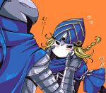 artorias_the_abysswalker blonde_hair blush braid cape dark_souls hat helmet lord's_blade_ciaran lord's_blade_ciaran lowres mask