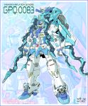 fusion gundam gundam_0083 heart heartcatch_precure! kurumi_erika mecha mechanization no_humans parody precure solo standing yanagi_joe zoom_layer