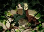 book cape fate/zero fate_(series) green_eyes green_hair magic_circle motsu_(kk_3) solo sword waver_velvet weapon